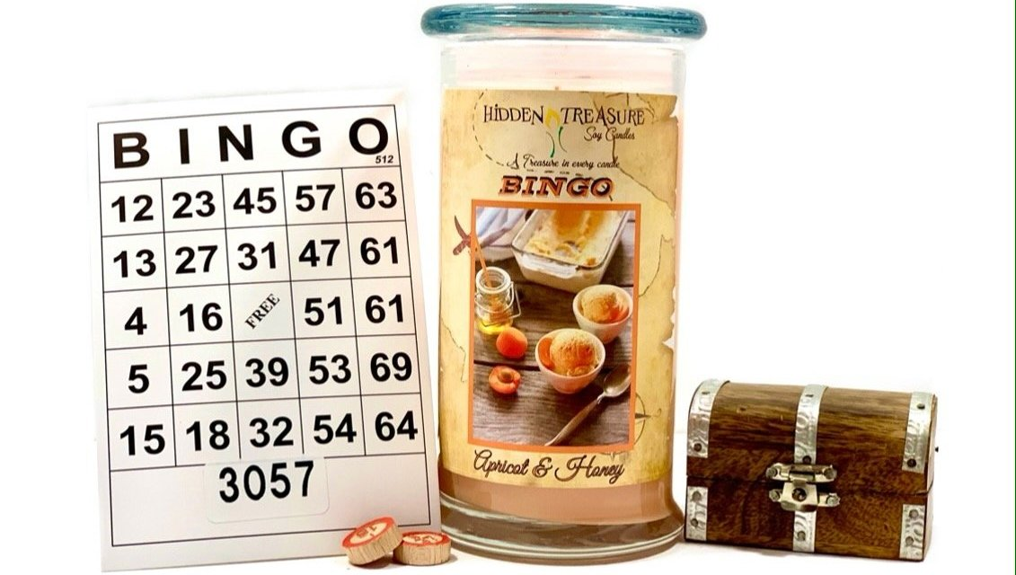 Hidden Treasures Cash/Bingo Candle Giveaway