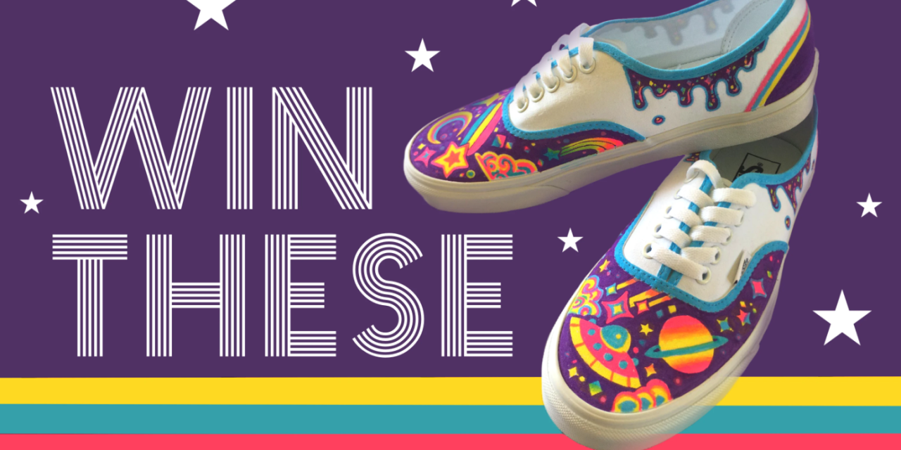 Tortuga Moon Custom Shoes Giveaway