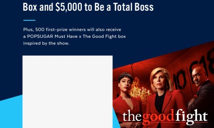 POPSUGAR Must Have x The Good Fight Box Sweepstakes