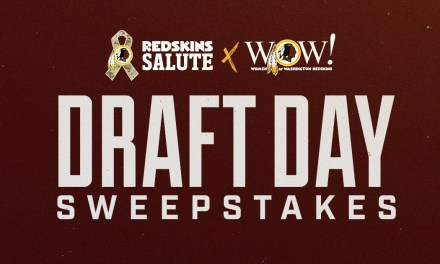 Redskins Draft Day Sweepstakes