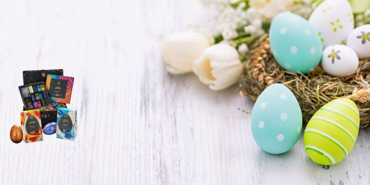 Free Green & Black's Easter Hamper