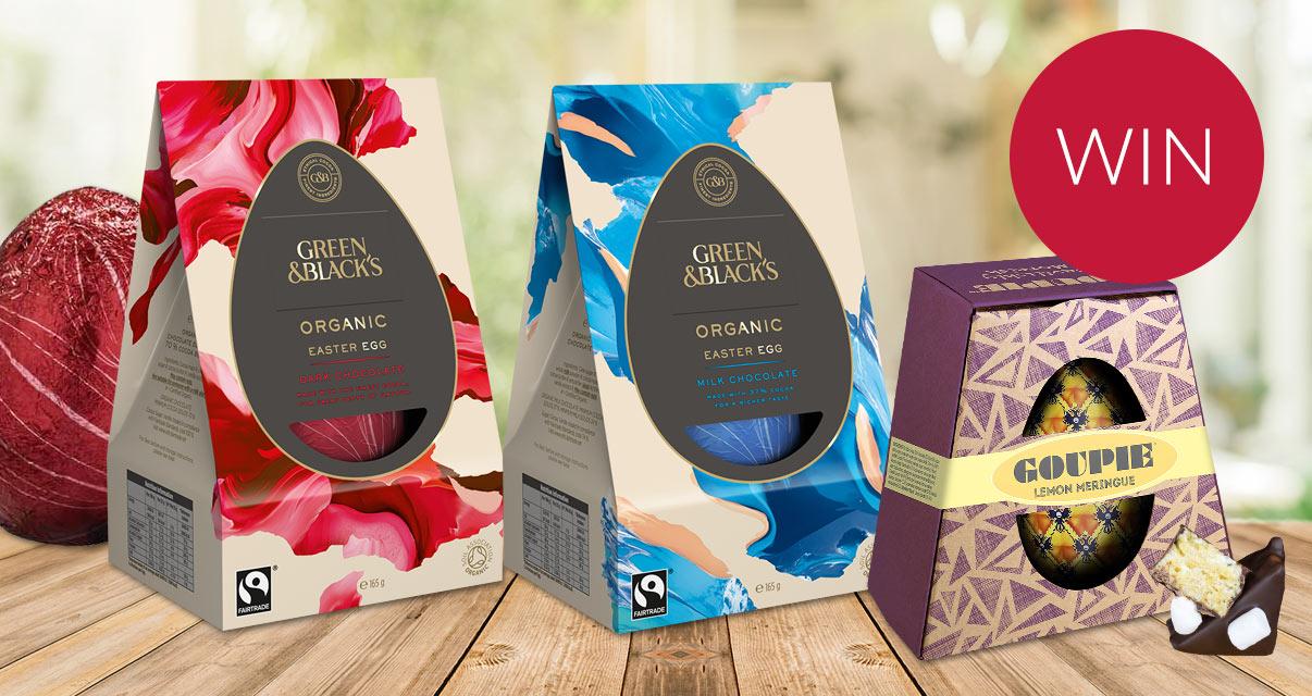 Free Green and Blacks Easter Egg
