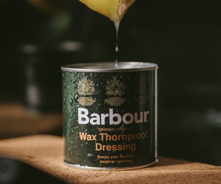 Free Barbour Waterproofing Wax