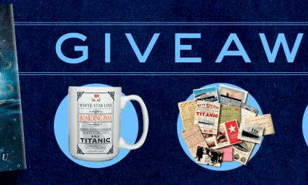 Titanic Anniversary Giveaway