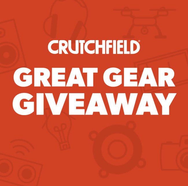 Crutchfield Monthly Giveaway