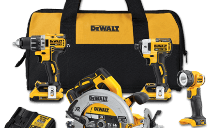 This DEWALT May Product Review Giveaway 2020