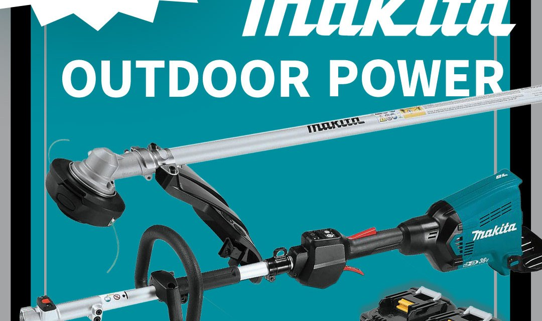 $2,700 Makita Outdoor Power Giveaway