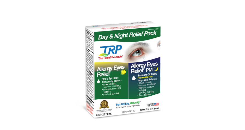 Free Allergy Eyes Day and Night Relief Pack