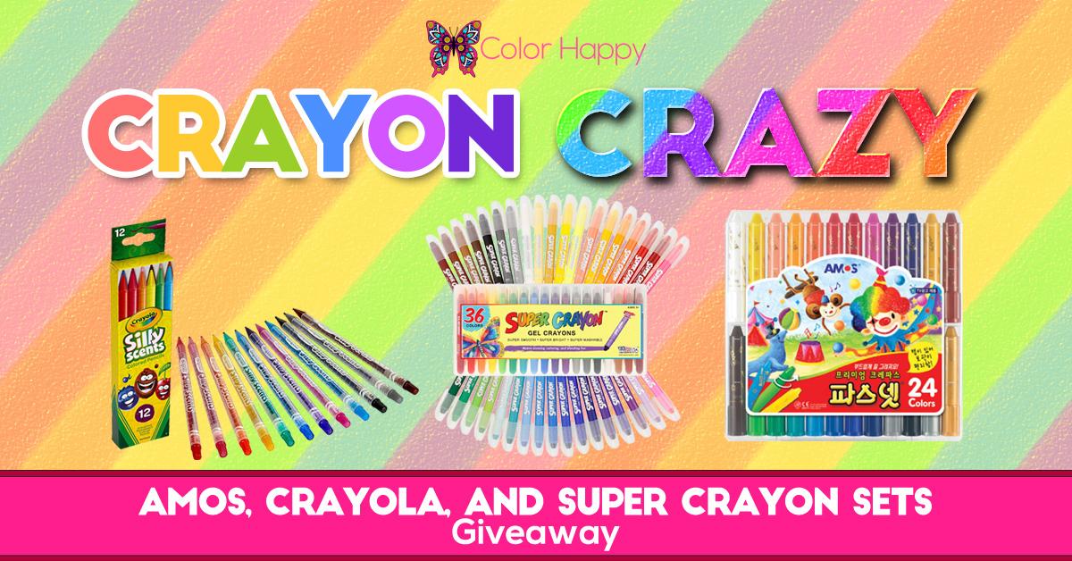 Crayon Crazy Giveaway
