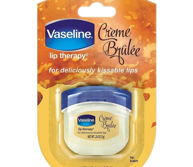 Free Vaseline Lip Balm Creme Brulee