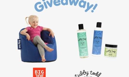 Tubby Todd + Big Joe Giveaway