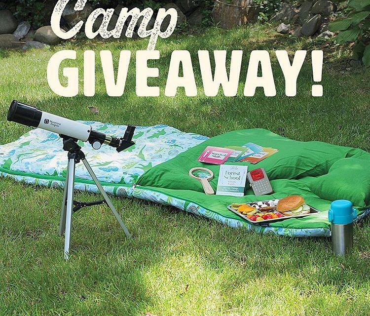 Kids Camp Giveaway