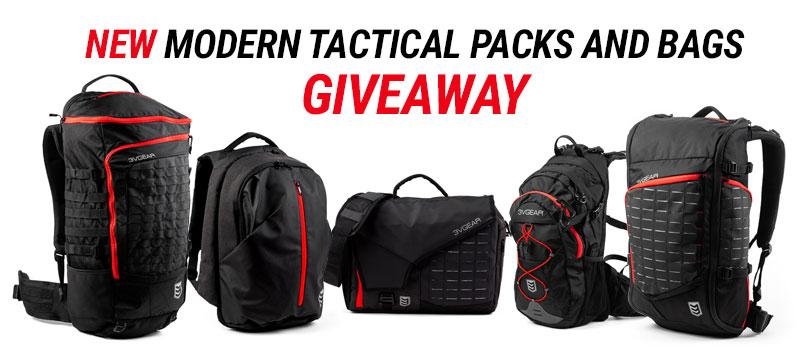 Tactical Packs and Bags Giveaway