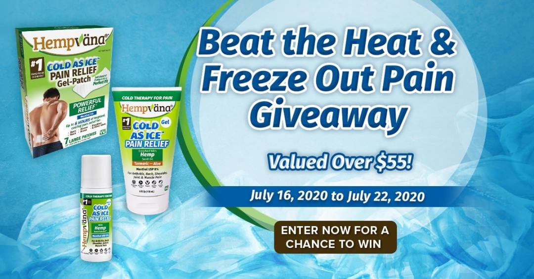 beat-the-heat-and-freeze-out-the-pain-sweepstakes