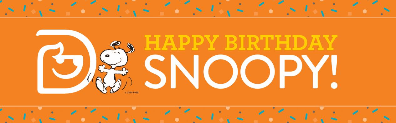 Happy Birthday Snoopy Sweepstakes