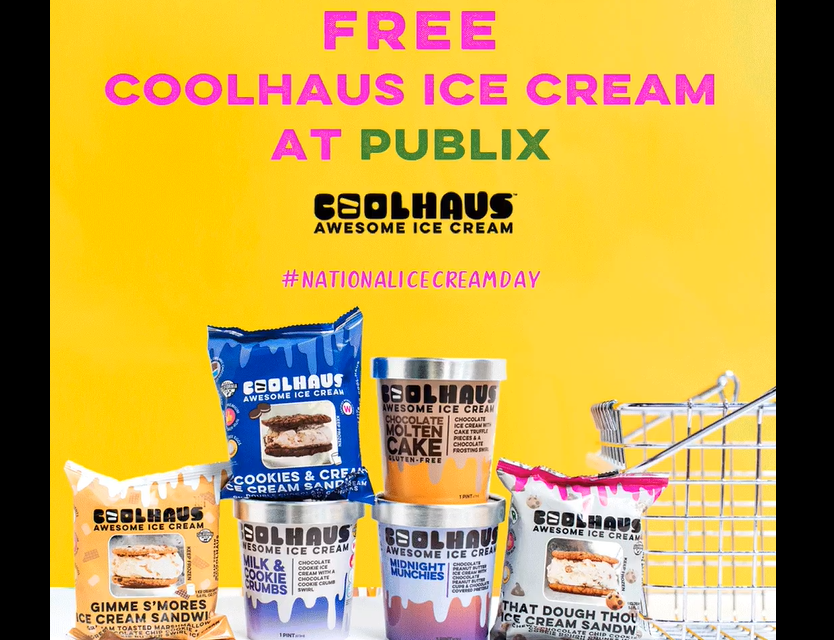 FREE Coolhaus Ice Cream