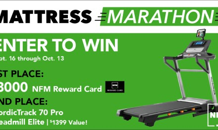 Mattress Marathon Giveaway