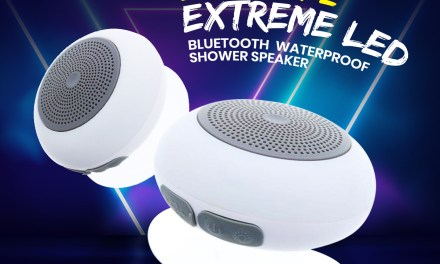 The BuyDig Xtreme LED Bluetooth Waterproof Shower Speaker Giveaway