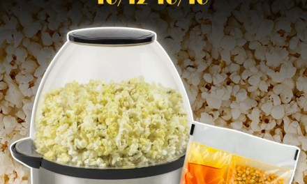 Nostalgia Stir Popper and Popcorn Kit Giveaway