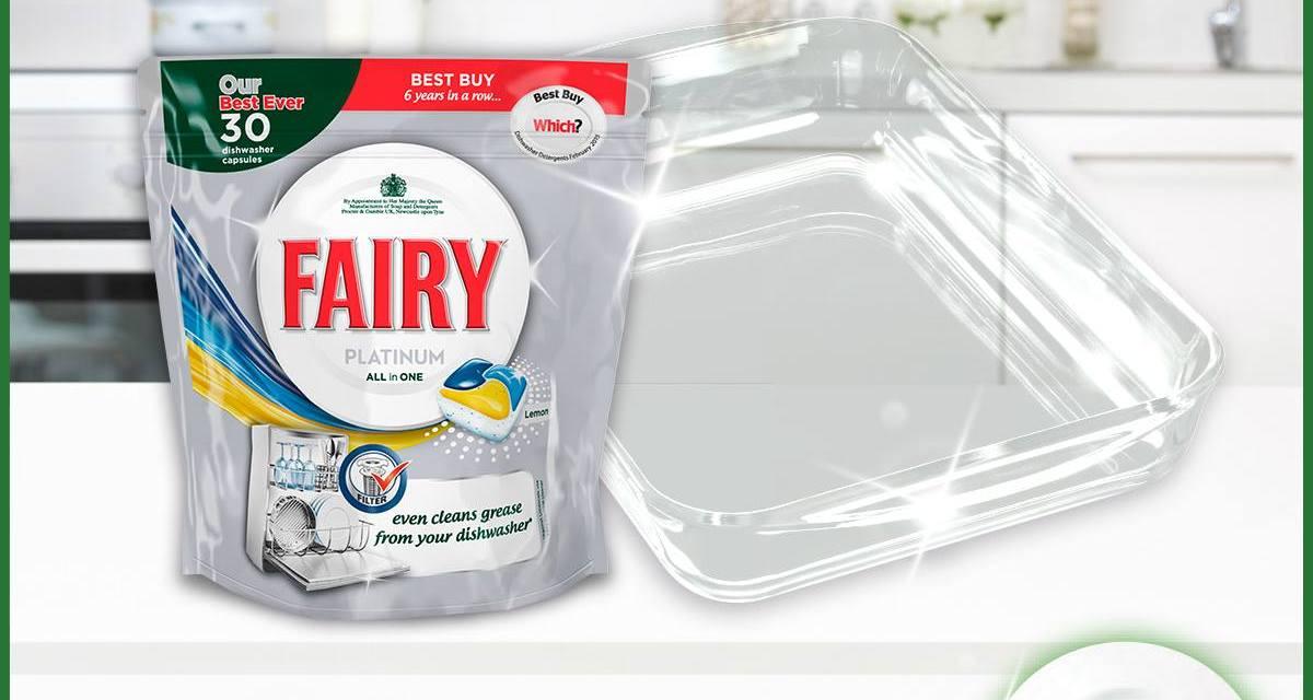 Free Fairy Dishwasher Tablets Box