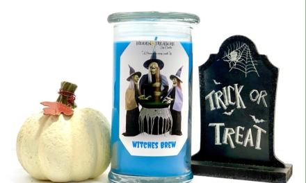 Halloween Candle Giveaway