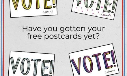Free Vote Postcard