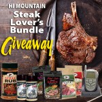Hi Mountain Steak Lovers Bundle Giveaway