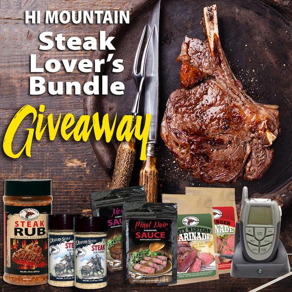 Hi Mountain Steak Lovers Bundle Giveaway