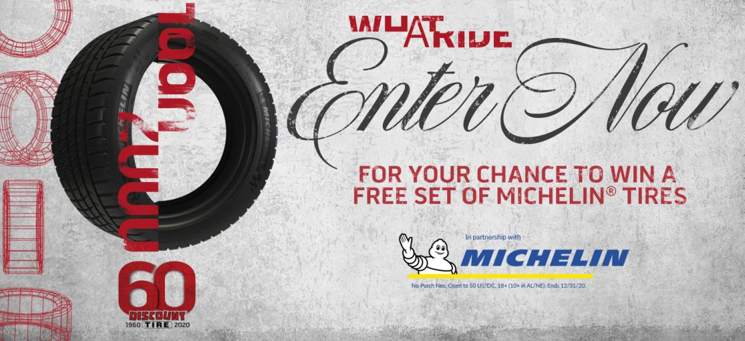 discount-tire-60th-anniversary-sweepstakes