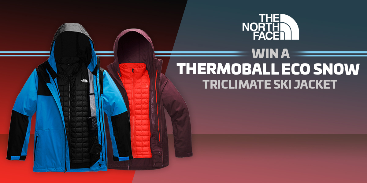 Thermoball Eco Snow Triclimate Ski Jacket Giveaway