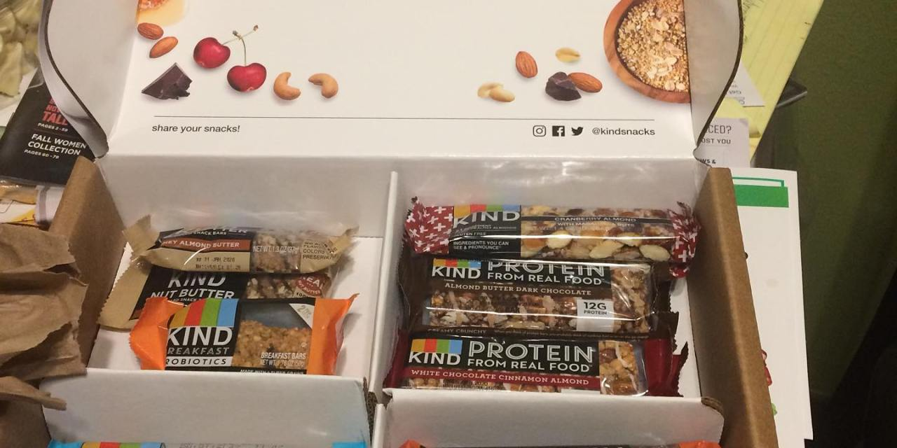 Free Kind Snack Bar Sample Box