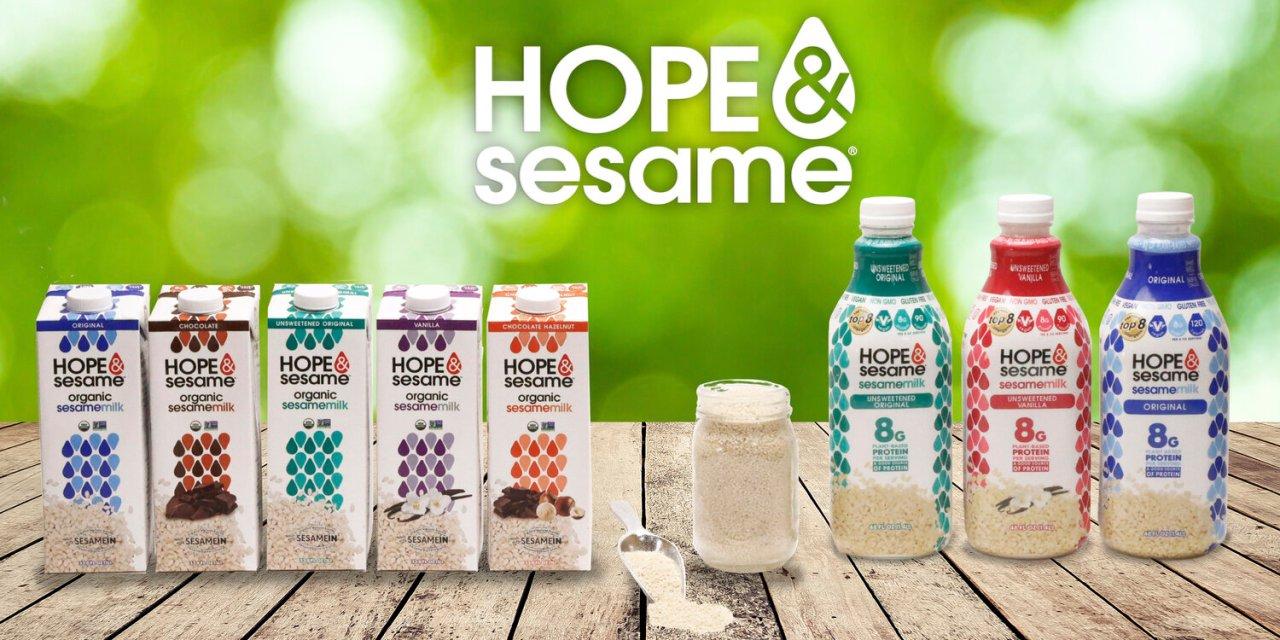 FREE Hope and Sesame Sesamemilk Sample