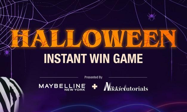 Maybelline Halloween Instant Win Game
