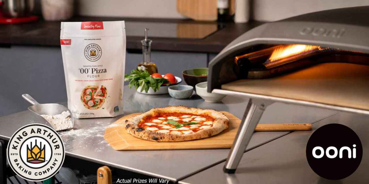 Ooni and King Arthur Pizza Giveaway
