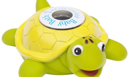 FREE Baby Bath Floating Turtle Toy and Bath Tub Thermometer