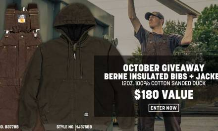 October 2020 Berne Apparel Giveaway