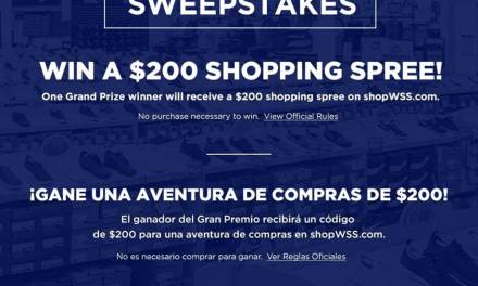 ShopWSS Shopping Spree Giveaway