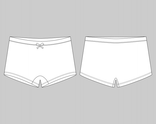 Free Women's Brief Panties Sample