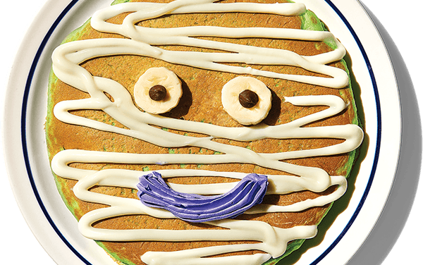 FREE Mr Mummy Pancake