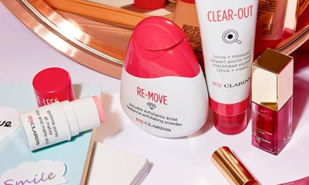 Free Clarins Exfoliating Powder