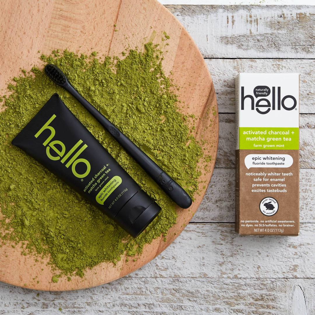 free-sample-of-hello-matcha-toothpaste-products