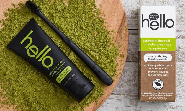 Free Sample of Hello Matcha Toothpaste Products