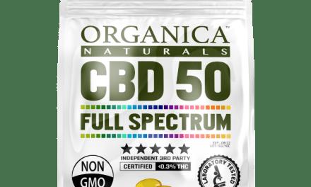 Free Organica Naturals Full Spectrum CBD Capsules Sample