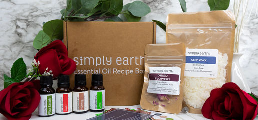 Free Simply Earth Essential Oil Box