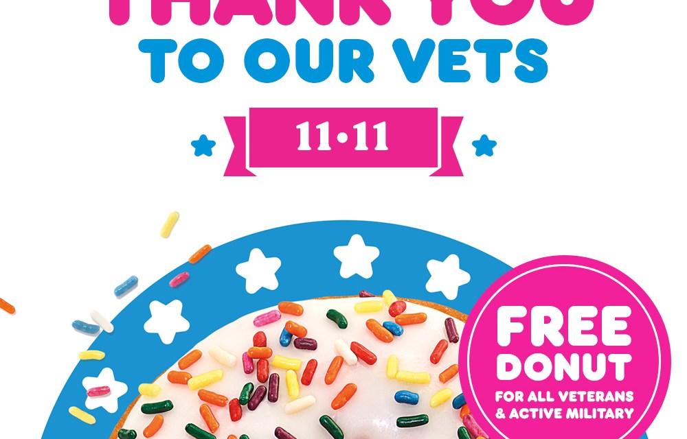 Free Dunkin Donut