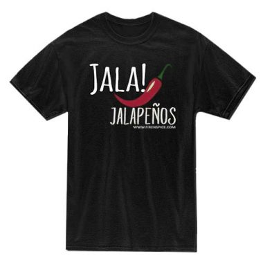 FREE Jalapenos T-Shirt