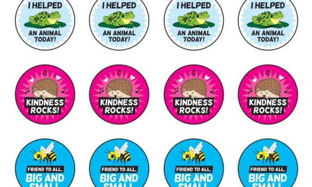 Free Compassion Stickers From PeTA