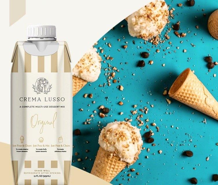 Free CREMA LUSSO Multiuse Dessert Mix