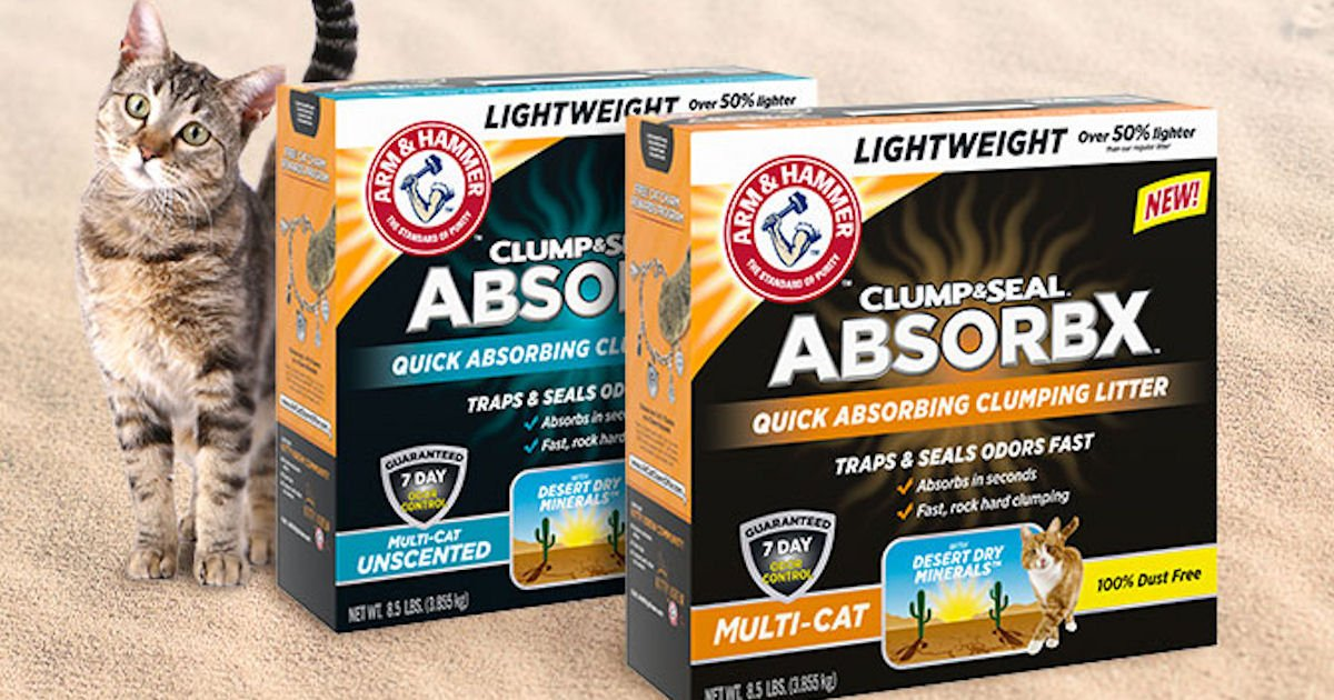 FREE Arm And Hammer Cat Litter
