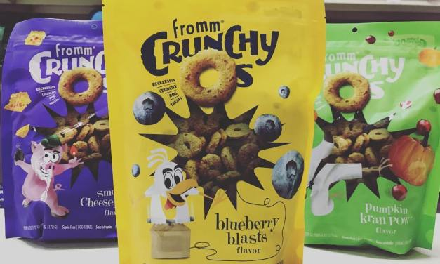 Free Bag of Fromm Crunchy O's Dog Treats